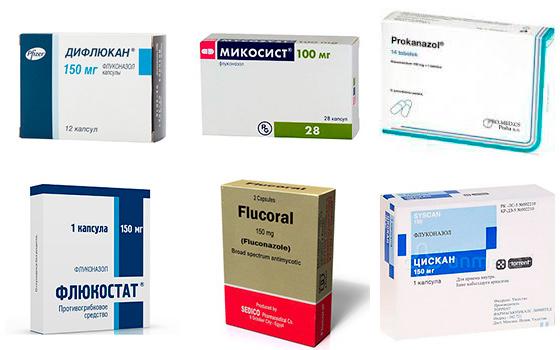 Препараты для лечения кандидозного простатита