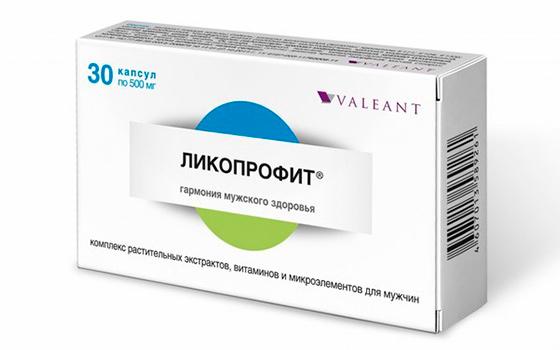 Таблетки для мужчин Ликопрофит